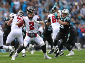 Playing For Pride, the Falcons Best the Panthers 24-10