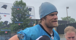 """Panthers Greg Olsen """"Cleared For Everything"""" and Ready to Go (Video)"""
