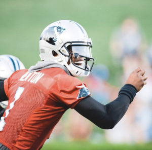 """""""All That Speculation Stops Today"""" - Cam Newton Opens Training Camp With a Few Bombs (Video)"""