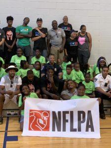 NFLPA Youth Football Camp in Baltimore Was A Success (featuring Baltimore Ravens Quarterback, Lamar Jackson)