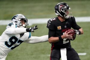 Panthers Place Yetur Gross-Matos on Reserve/Injured, Tyler Larsen on Reserve/Covid-19 List