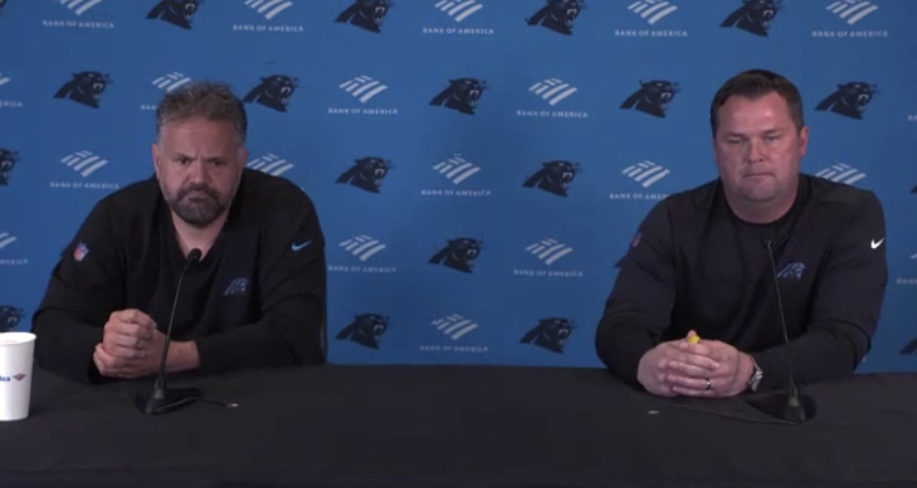 Fitterer and Rhule Address Media Ahead of NFL Draft