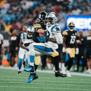Panthers Close Out Preseason With 34-9 Win Over Steelers