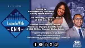 """Shareef Abdur-Rahim joins """"Listen In With KNN"""""""