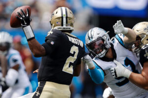 Panthers Put on a Defensive Clinic; Send Saints Marching With 26-7 Loss