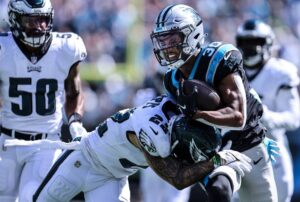 Eagles Hand Panthers Second Straight Loss 21-18 As Offense Stalls