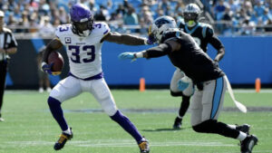 Panthers Rally Falls Short in 34-28 Loss to Vikings