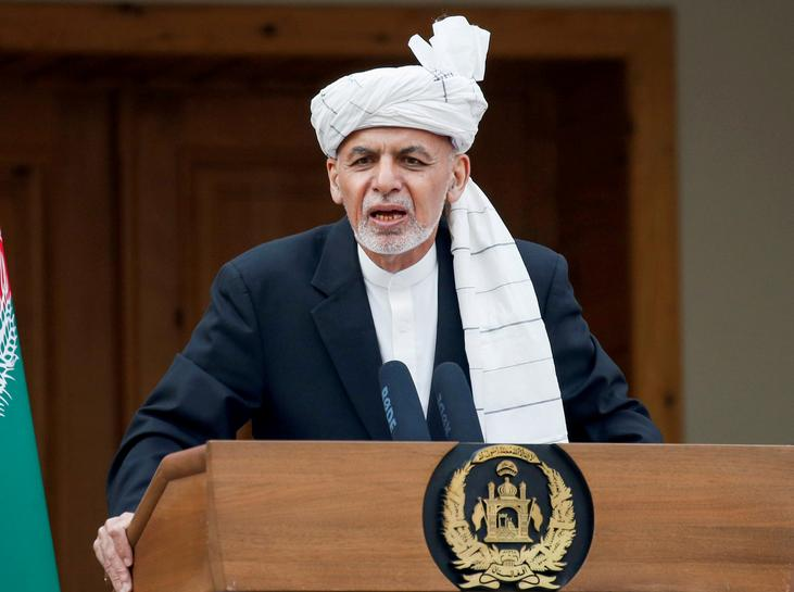 The President of Afghanistan proposes a three-phase peace roadmap: report
