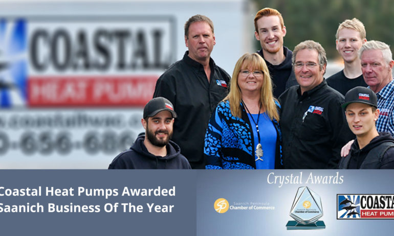 Coastal Heat Pumps Awarded Business Of The Year