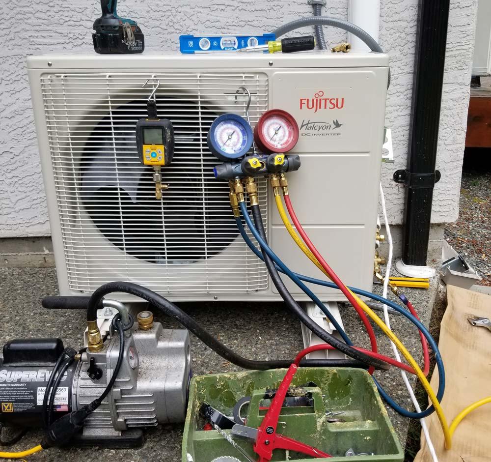 heat pump maintenance