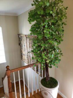 custom artificial Ginkgo Tree for home decor