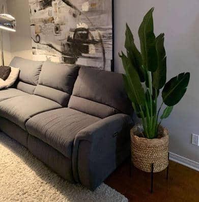 artificial Banana Leaf Plant