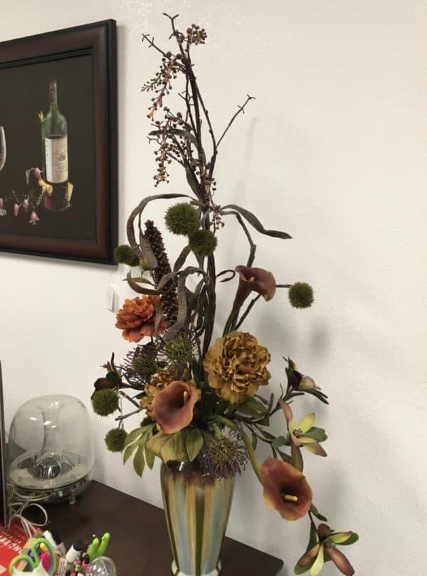 Masculine Silk Floral Arrangement