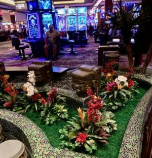 Plantscaping at Asian Restaurant