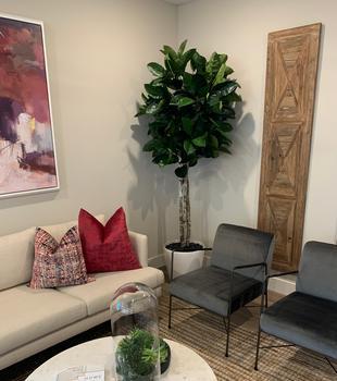 Custom Fiddle Leaf Tree for home decor