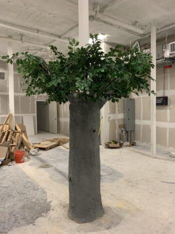 Cement Oak Tree
