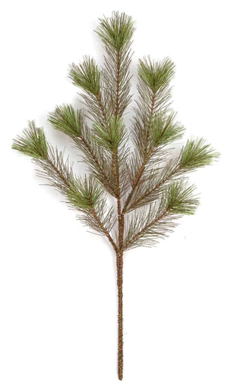 artificial pine spray
