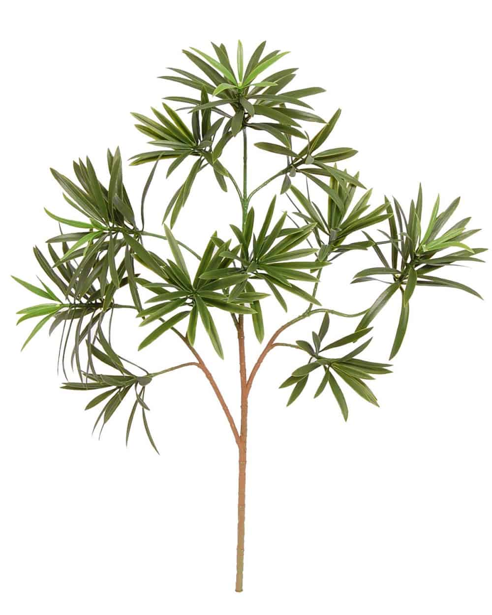 artificial podocarpus spray