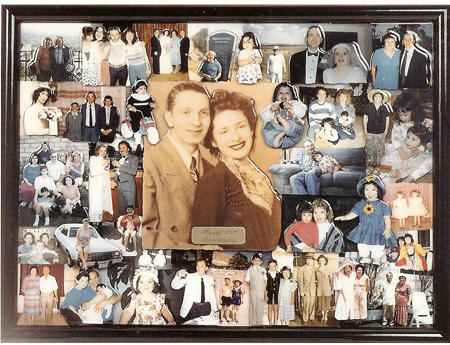 anniversary collage 18x24