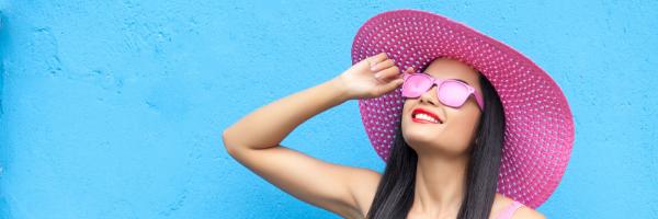 rosy-colored glasses