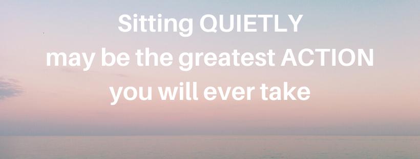 Feel powerful in silence