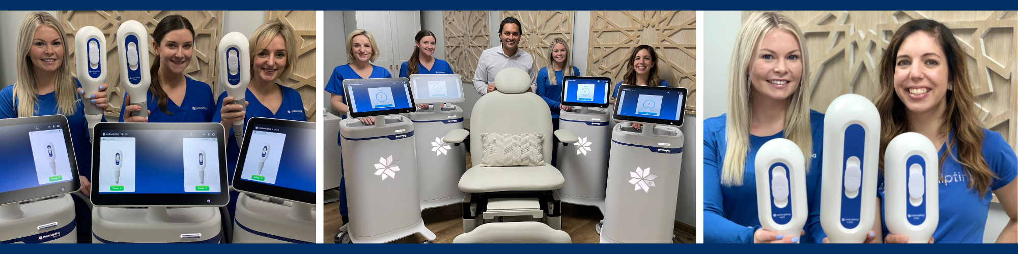 CoolSculpting Elite Specialists at CGT Aesthetics in Evergreen Park Illinois 60805