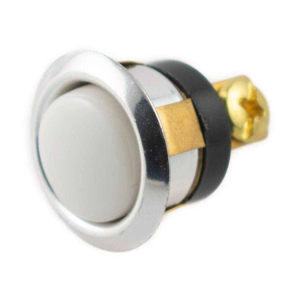 Bell-Button-White-Silver-Bezel