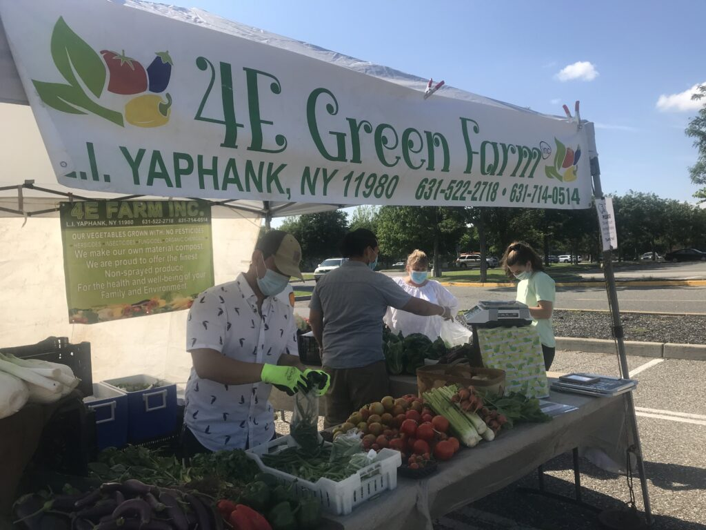 4E green farmers market
