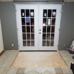 Garage Door Repair Tulsa Residential French Door Install With Severe Floor Damage 5