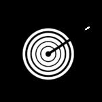 Archery target icon