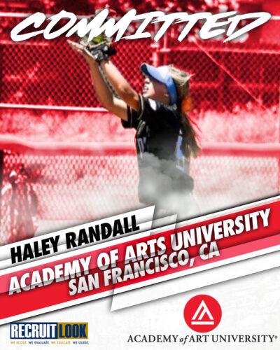 Haley Randall commitment