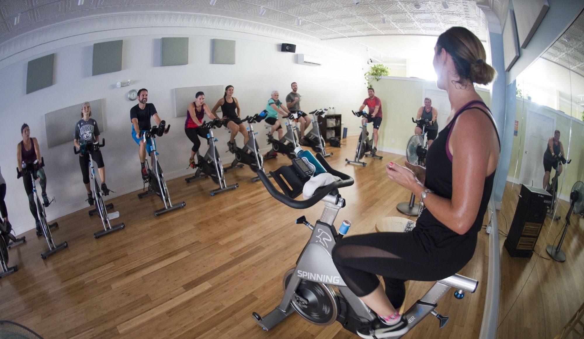 Free class: Intro to Studio Cycling