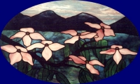 Dogwood blossomes by Bubble pond