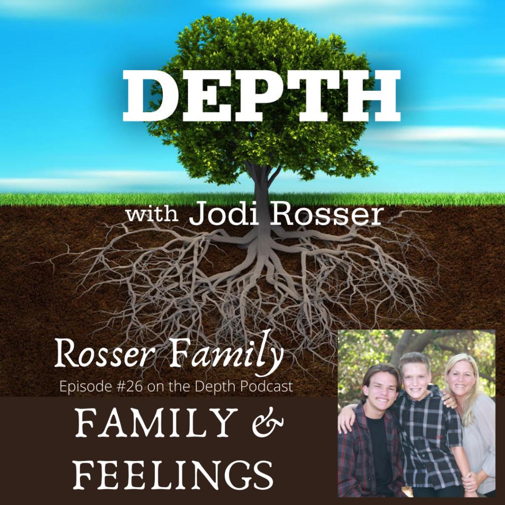 Rosser family graphic
