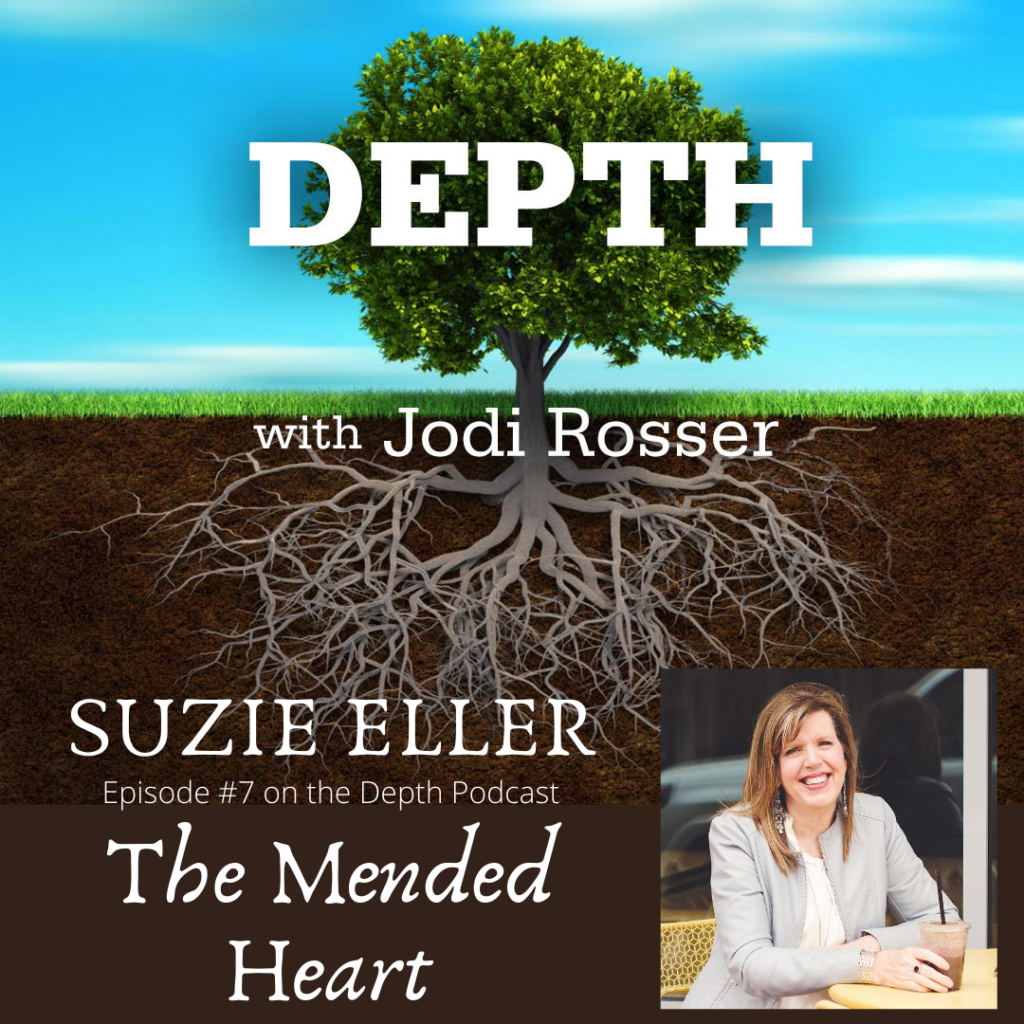 Suzie Eller- The Mended Heart graphic