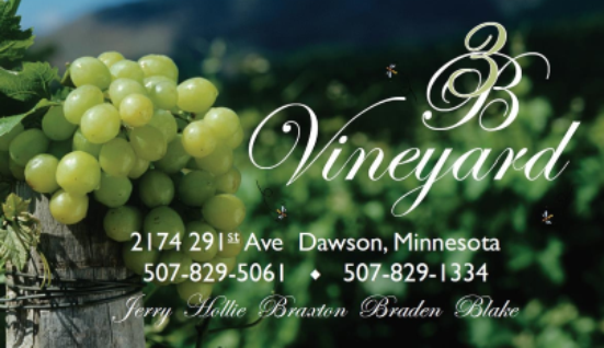 Join us Aug 27 for our annual fundraiser at 3B Vineyard!