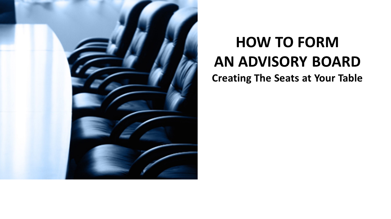 How to form an advisory board
