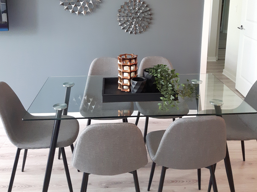 Condo for sale home staging