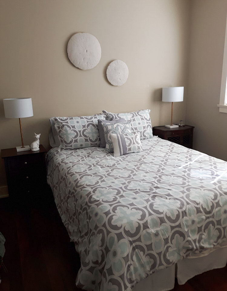 beach house home staging