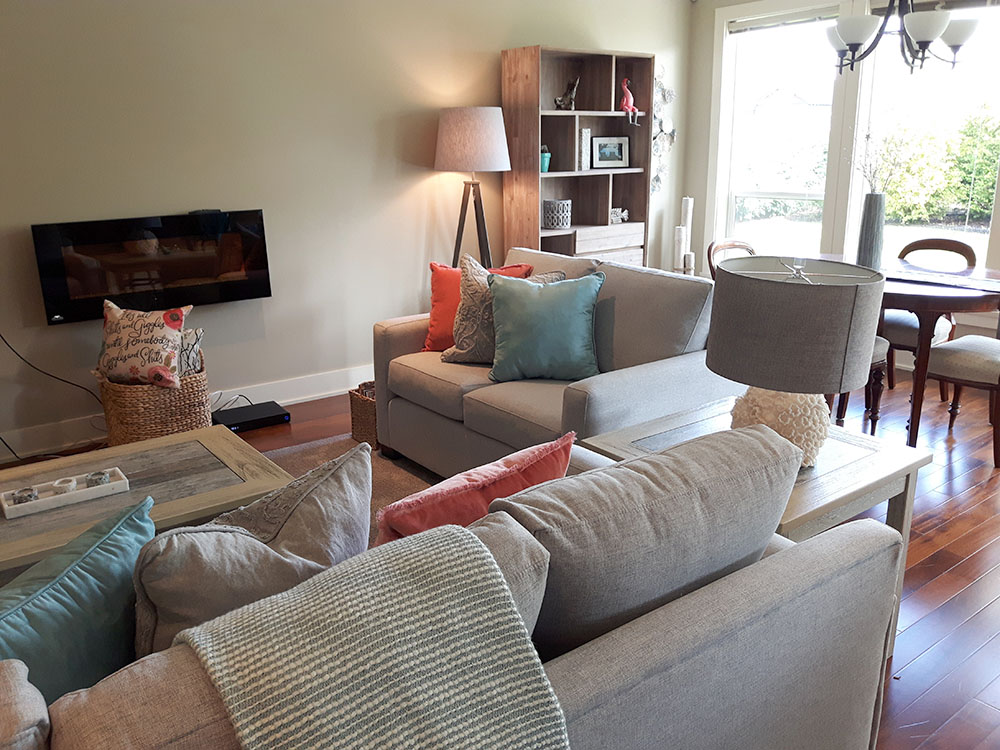 beach house BC home staging