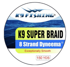 K9 Fluorocarbon Fishing Line Choice of Sizes and Colors Available