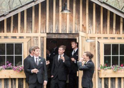Groomsmen space Gents Quarters Pre-Wedding Cigars