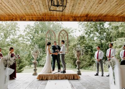 Michaela and Luca Wedding Ceremony