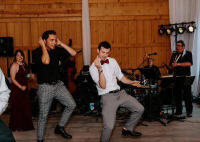 Michaela + Lucas Wedding dancing
