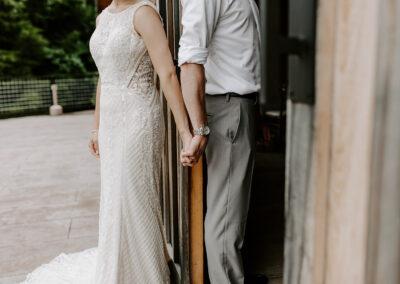 Michaela + Lucas Wedding Groom and bride
