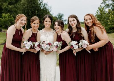 Michaela + Lucas Wedding Bridal Party