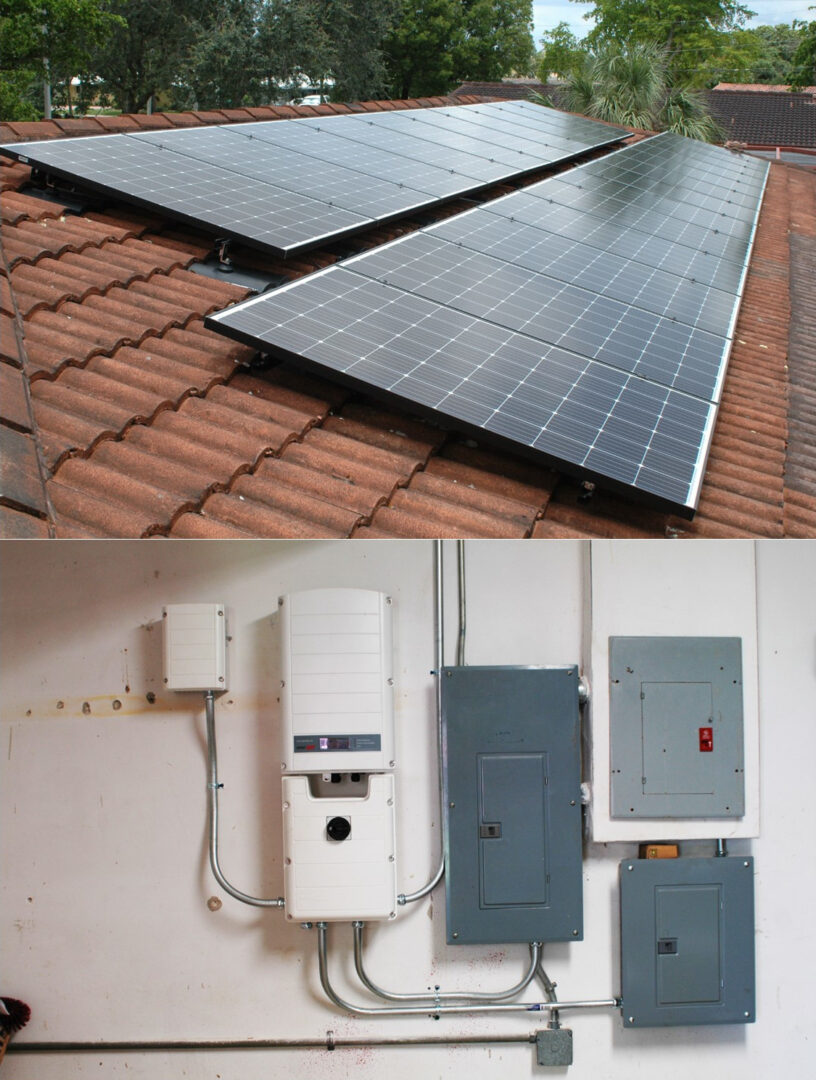 8.55kW Grid-Tied with 9.8kW Battery Back-up - Miami Lakes, FL
