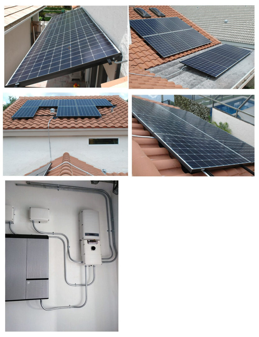 10.2kW Grid-tied with 9.3kW battery Back-up - Plantation, FL