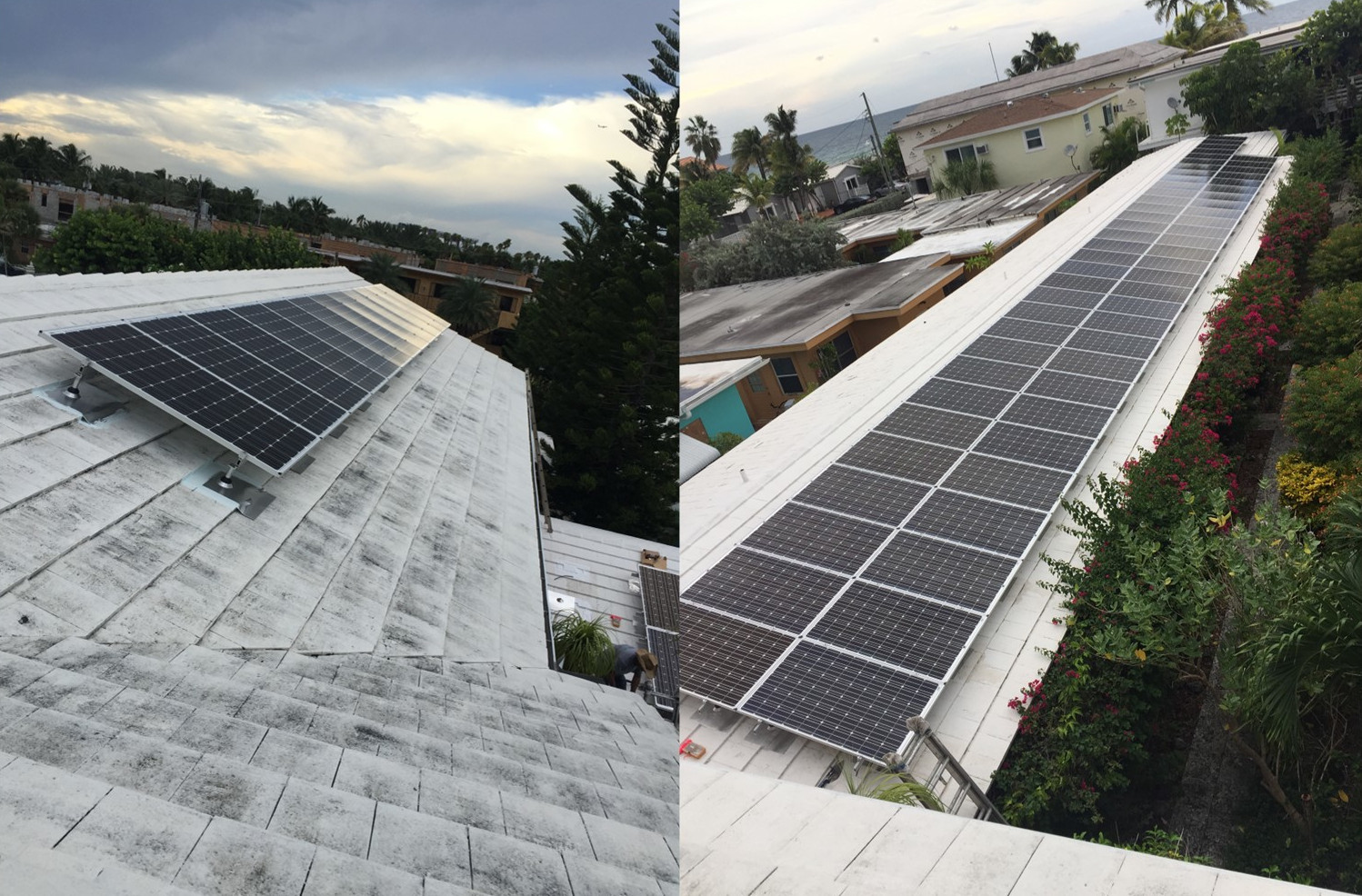 20.52kW Commercial Microinverter Grid-tied System - Hollywood, Beach FL