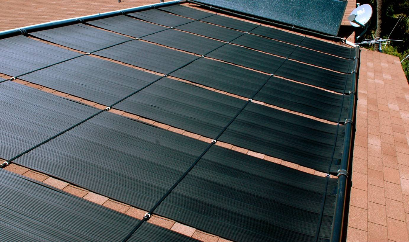 Solar Pool Heating and Solar Domestic Hot Water - Fort Lauderdale, Florida
